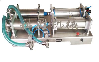 邯郸科胜双头液体灌装机|大剂量安梨汁灌装机|河北灌装机