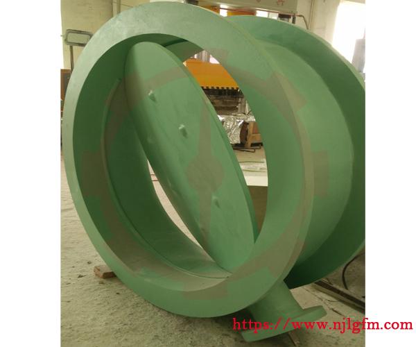 大规格玻璃钢蝶阀