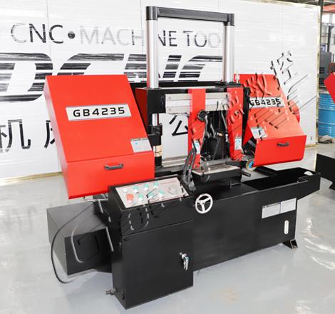 高德数控GB4235金属带锯床 双立柱结构 运行稳定经久耐用