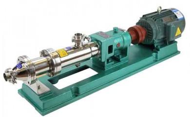 厂家生产直销不锈钢卫生螺杆泵,G型螺杆泵,单螺杆泵
