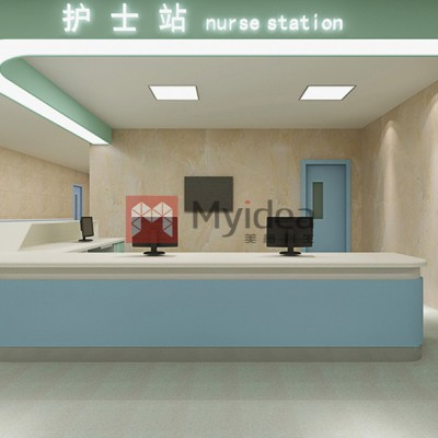 欧曼医用家具-医院公共区护士站