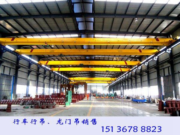 江西萍乡单梁行吊厂家16吨欧式行车备受欢迎