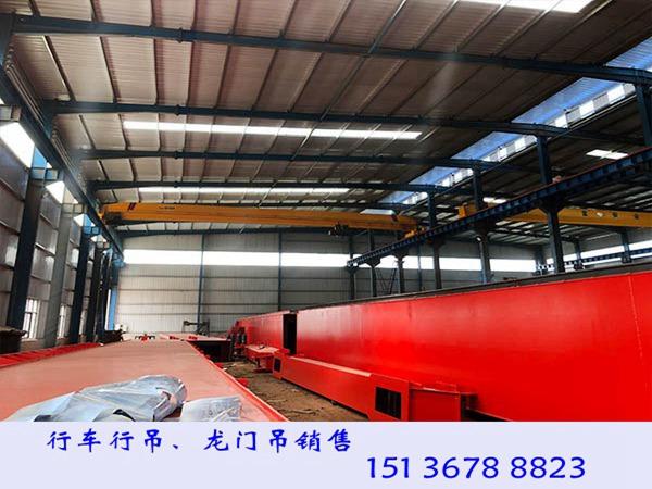 广东肇庆10吨天车天吊厂家跨度对价格的影响