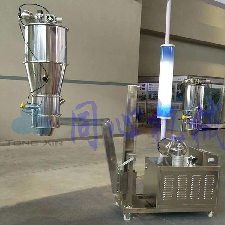 橡塑制药自动不锈钢真空粉末上料机 食品厂负压粉体输送真吸料机