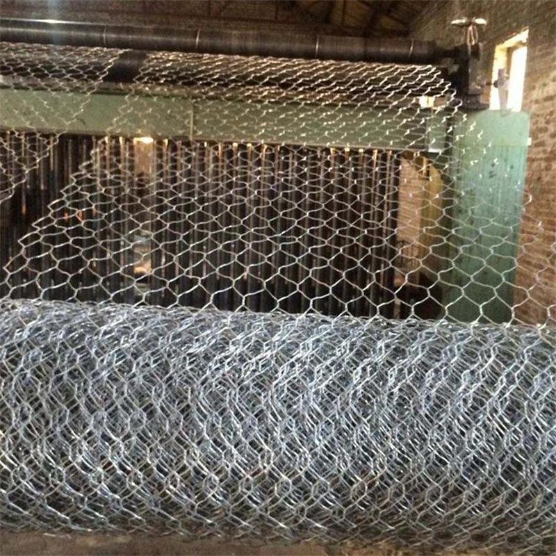 安平石笼网厂家 镀锌雷诺护垫边坡防护格宾网定制 铅丝笼绿滨垫