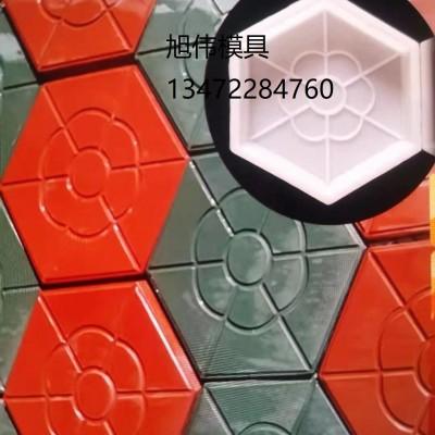 彩砖模具-步道砖模具-彩砖塑料模具厂家