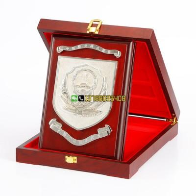 优秀警察表彰奖牌 警察退休纪念品 十佳民警奖品定做