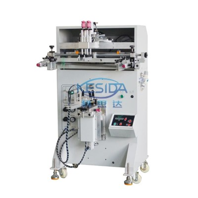 KSD-400S 半自动圆面丝印机曲面丝印