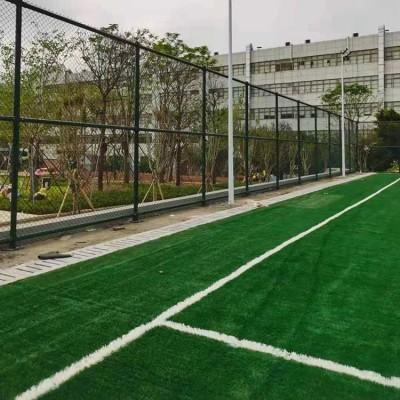 杨凌示范区体育场围网 足球场隔离网 网球场勾花网