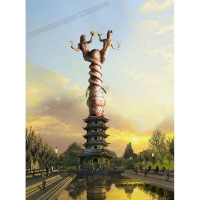 华阳雕塑 重庆城市雕塑制作 重庆主题雕塑 四川雕塑公司