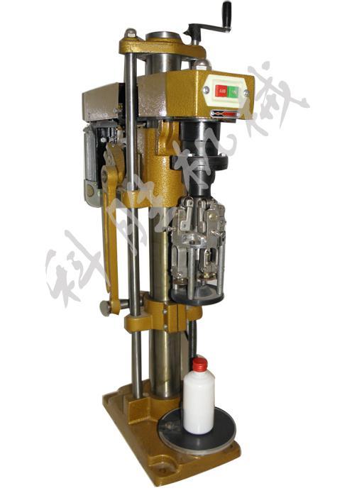 衡水科胜白酒瓶压盖机|多功能锁口机|铝盖压盖机