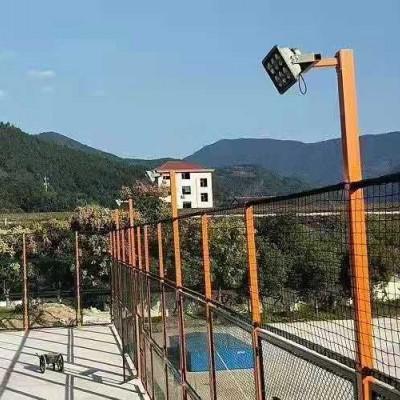 铜川市体育场勾花围网 羽毛球场围栏 排球场防护网
