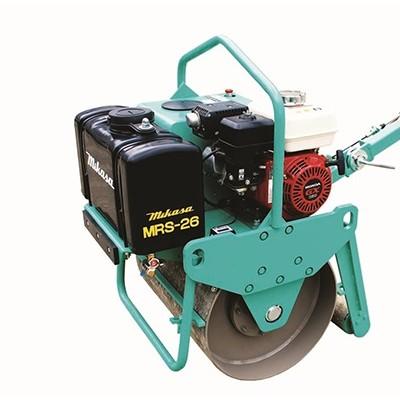 市政路面养护MRS-26手扶单钢轮压路机